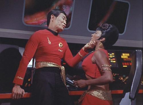 Sulu and Uhura Mirror Mirror